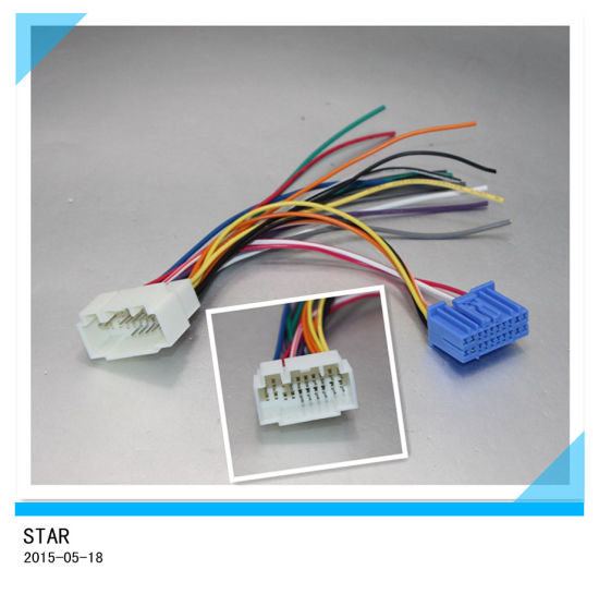 china high quality replacemaent auto radio stereo iso wire harness rh starconnect en made in china com