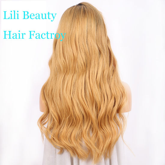 Lili Beauty Hair 13X6 Lace Front Human Hair Wigs 150% Density Brazilian Virgin Hair Ombre Lace Wigs with Baby Hair Pre Plucked Hairline pictures & photos