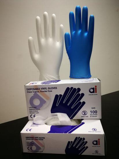Disposable Washing Vinyl (vinil) Gloves for Kitchen or Restaurant /Hotel