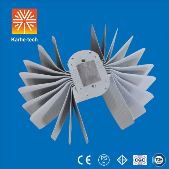 High Power LED Light Dissipater Heat Sink Radiator with Fine Aluminum pictures & photos