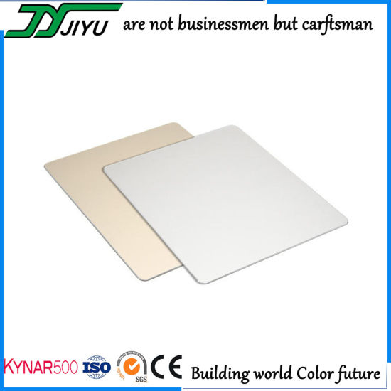 Shandong PVDF Coated Aluminum Plastic Composite Panel for Wall Cladding
