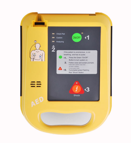 (MS-300A) Medical Hospital Emergency First Aid Portable Aed Biphasic Automatic External Defibrillator