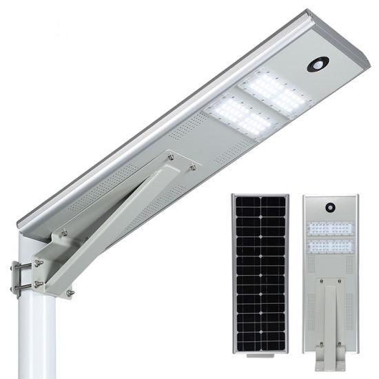 30W 24ah Li-Battery 30hrs Lighting Time Solar Outdoor LED Street Light