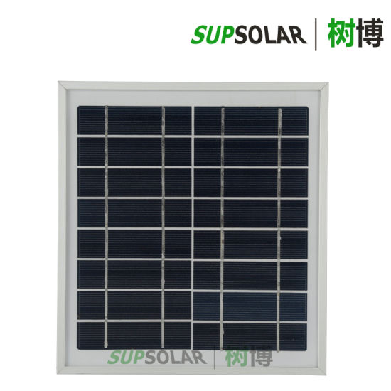 2019 China 4W Polycrystalline Solar Energy Battery Panel pictures & photos