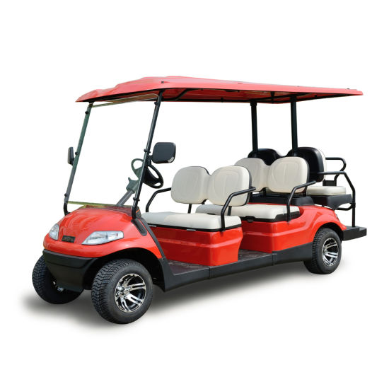 6 Seaters Battery Power Electric Golf Car