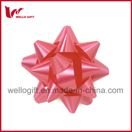 Poly Ribbon Star Bow pictures & photos