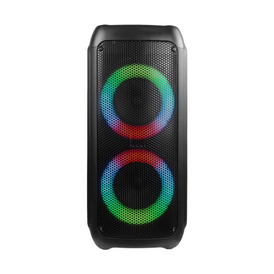 China Jbl Style Rotating Light Dual 6 Inch Wireless Bluetooth Portable Speaker Party Box Jbl Partybox China Power Speaker And Battery Speaker Price