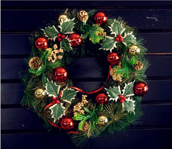 Cm Christmas Garlands Decorations For Shopping Mall Or Store