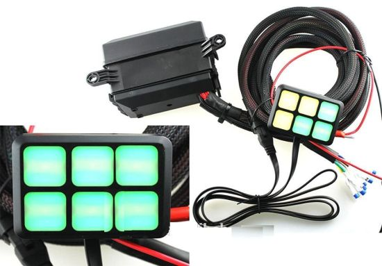 Remarkable China Dc 12V 6 Gang On Off Touch Sensitive Screen Led Control Switch Wiring Digital Resources Inamasemecshebarightsorg