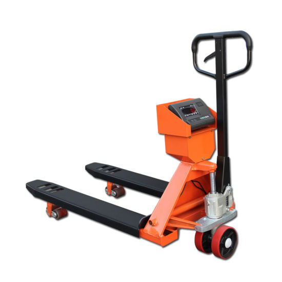 Pallet Truck with Scale, Weighing Scale Hydraulic Pallet Truck