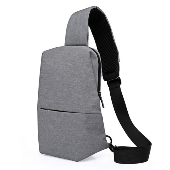3c27753478d1 Canvas Casual Sling Bags Men Solid Color Chest Pack Male Brand Designer  Stylish Cross Body Bag Large Organizer Bags