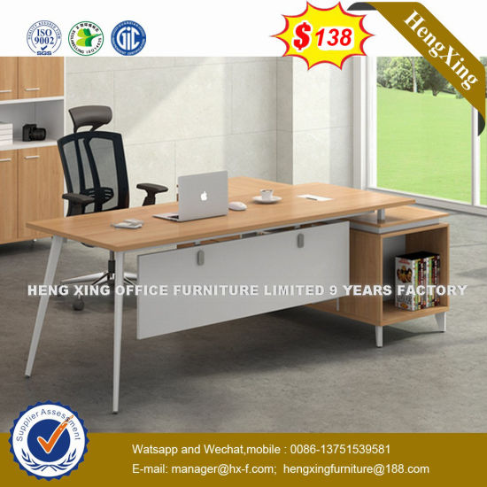 Oven Shape Design Iron Leg 20 Days Delivery Office Desk (UL-MFC362) pictures & photos