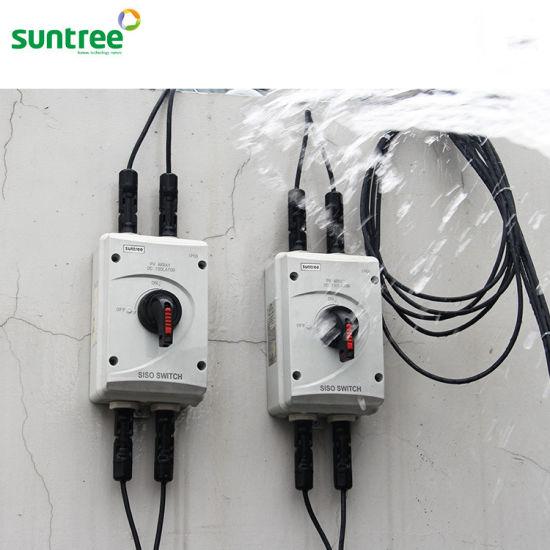 Pleasing China Dc1000V 32A 4 Pole Solar Electric Isolator Switch China Wiring Digital Resources Funapmognl