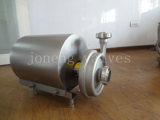 Stainless Steel Sanitary Hygienic Round Cover Centrifugal Pump pictures & photos