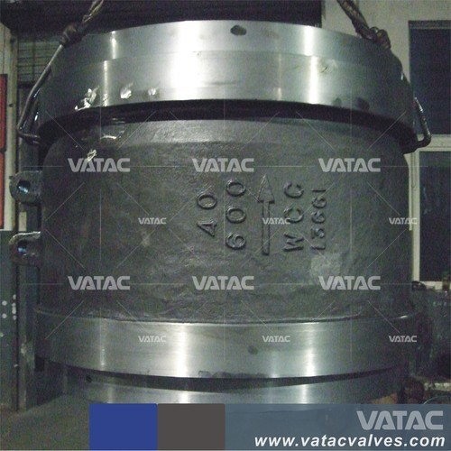 Cast Steel Flanged Ends Non-Slam Check Valve pictures & photos