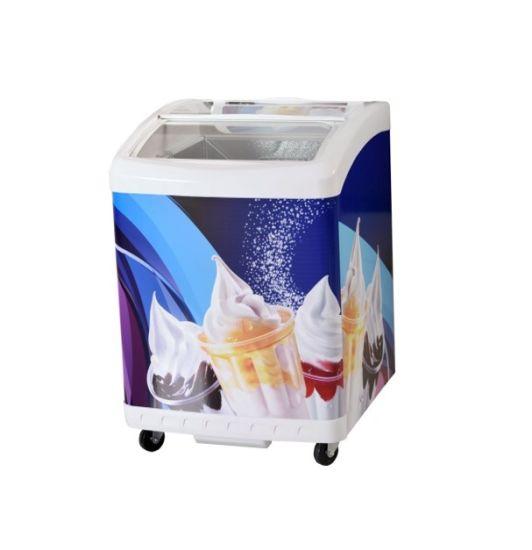 High Quality Deep Chest Ice Cream Freezer