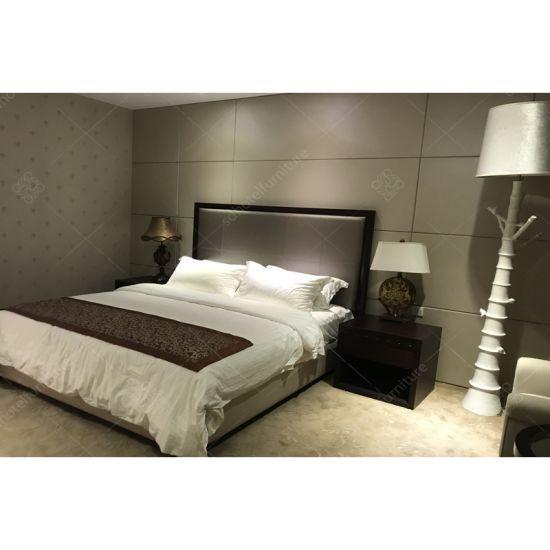 Comfortable Businiess Wooden Bedroom Hotel Furniture for Sale
