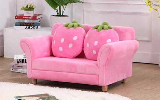 China Kids Sofa Set Children Armrest Chair Strawberry Lounge Couch ...
