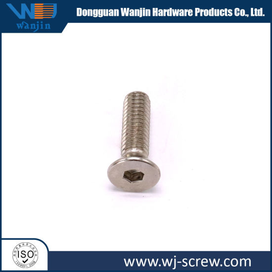 Flat / Hexagonal / Round Head Brass Hex Screw pictures & photos