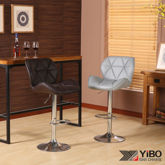 Astonishing Pu Black Gaslift Adjustable Uk Ebay Bar Stool Ocoug Best Dining Table And Chair Ideas Images Ocougorg