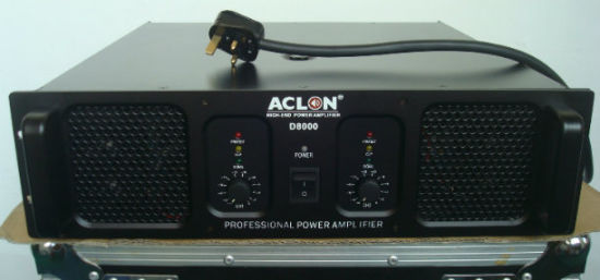 Professional Power Amplifier Audio, 2ohm Stereo pictures & photos