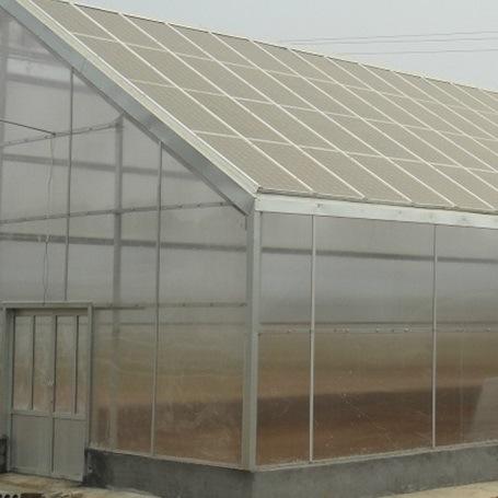 Aluminum Profile Strawberry Hydroponic Greenhouse
