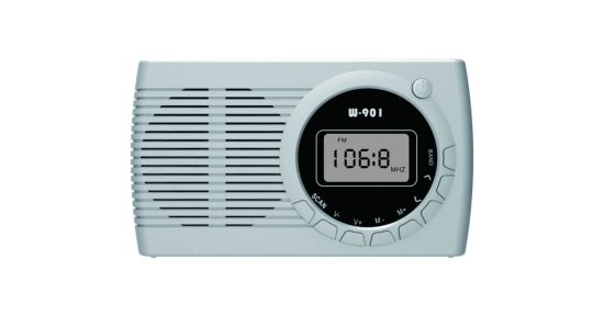 Portable FM/Am/Sw/TV Gift Clock Digital Display Radio pictures & photos
