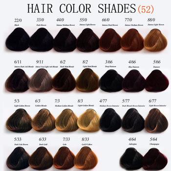Professional Salon Hair Color Manufacturers Natural Permanent Dye Cream