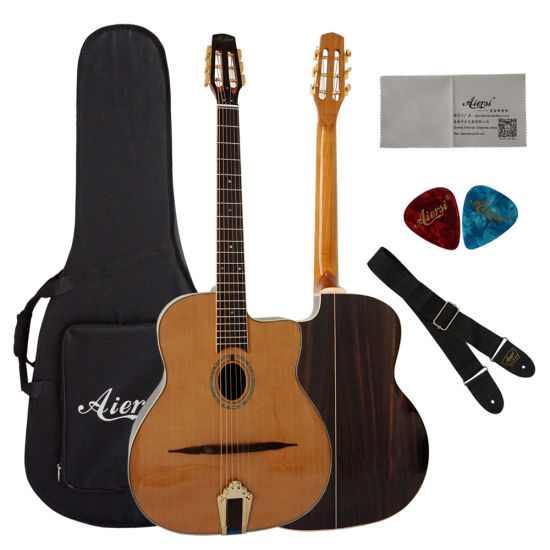 Good Price of OEM Jazz Gypsy Guitar for Wholesale pictures & photos