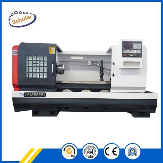 Flat Bed Horizontal CNC Turning Center Lathe Machine