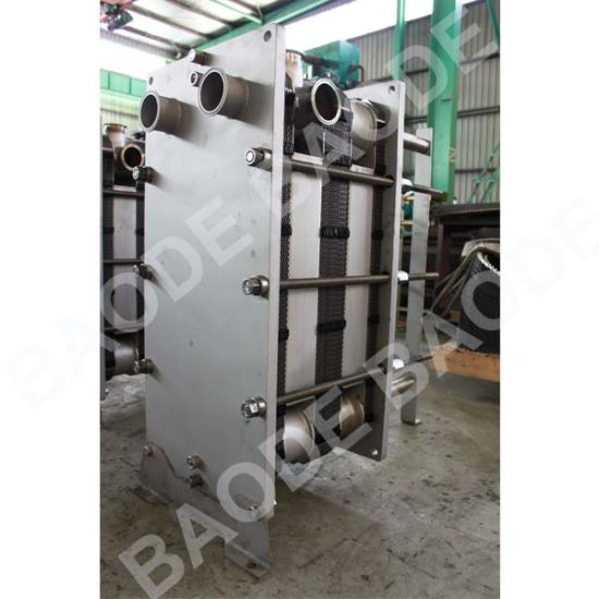 Titanium Plates Sanitary Heat Exchanger for Food pictures & photos