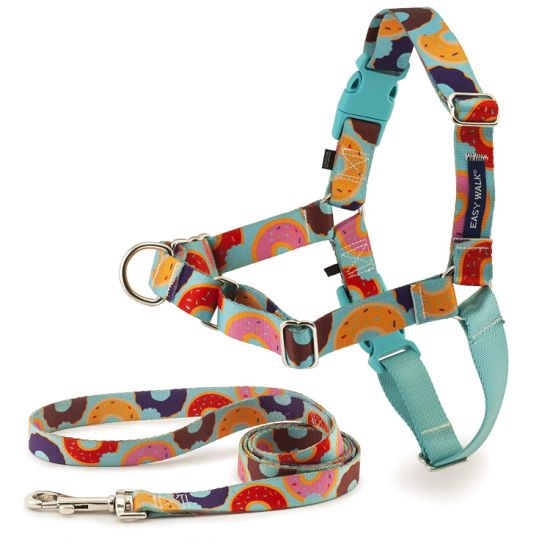 2019 Manufacturer Cute Design High Quality Step-in Dog Strap Harness and Lead Set