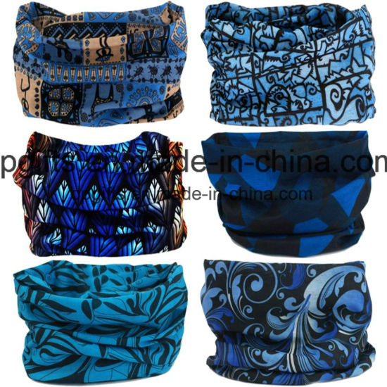 Customised Head Wrapper Buffe Muti-Function Cycling Bandana Headwear