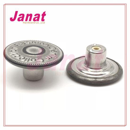 Plating Color 65# Brass 20mm Brass Metal Buttons