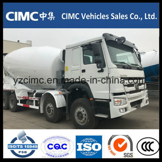 HOWO 6*4 371HP Specialized Vehicle 10m3 Heavy Cement Concrete Mixer Truck