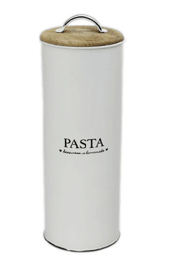 Metal Pasta Tin Storage Canister Kitchen Container pictures & photos
