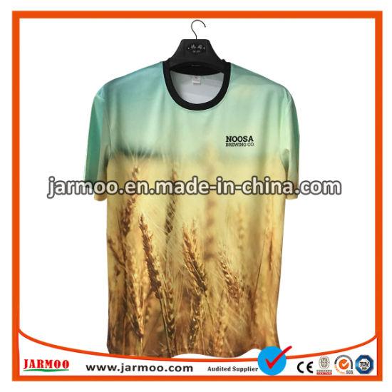 c51bcc20 Unisex Custom Top Wholesale All Over Dye Sublimation Printing Custom T Shirt