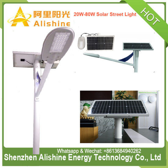 30W LED Semi Integrated/Separated Solar Street Light for Garden/Road/Pathway/Farm/Fence/Wall pictures & photos
