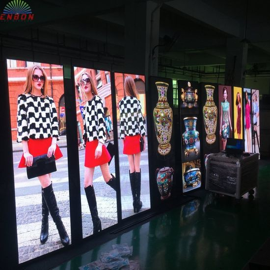 1000 Nits Nationstar Brand RGB LED Poster Display for Ads
