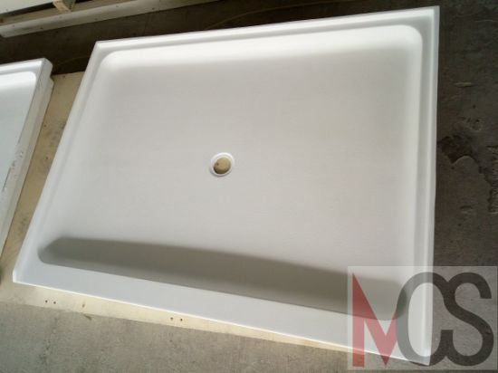 China Wholesale USA Cast Cultured Marble Hospitality Brands Shower - Cast marble shower pans