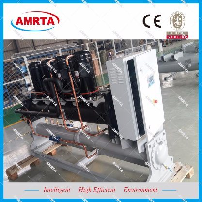 Water to Water Scroll Modular Chiller Cooling and Heating