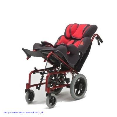 China Supplier Aluminum Manual Pram Wheelchair Electric Cp Chair for Sales