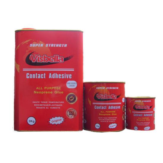 China Visbella Shoe Repair Adhesive Contact Cement China Contact Cement Contact Adhesive Visbella