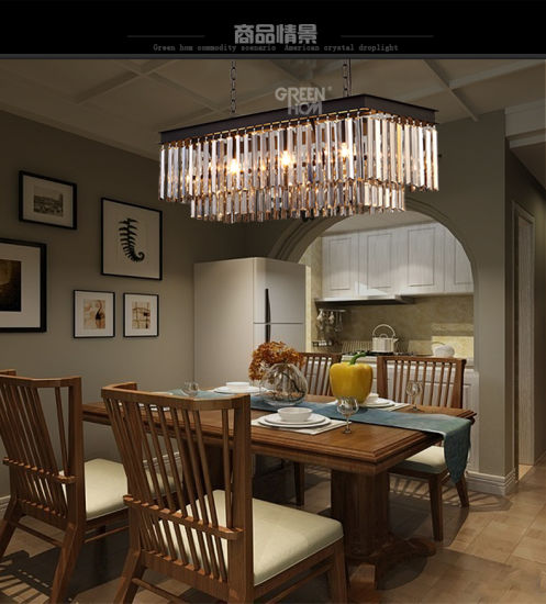 China K9 Crystal Ceiling Decorative, Fancy Dining Room Chandeliers