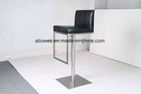 Enjoyable China Square Pu Fabric Leather Seat And Base Metal Stainless Forskolin Free Trial Chair Design Images Forskolin Free Trialorg