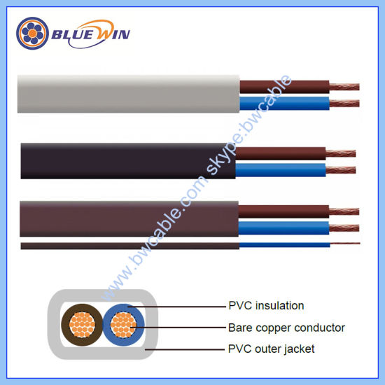 Flat Cable PVC Cable, Building Wire Twin and Earth Cable Connecting Wire, Flexible Copper Cable Electrical Wire and Cable Prices 2192y Electric Wire TPS Cable pictures & photos