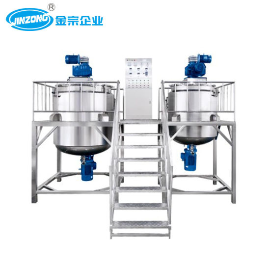 Jinzong Stainless Steel Mixing Tank for Chemical/Pharmacy/Cosmetics Liquid