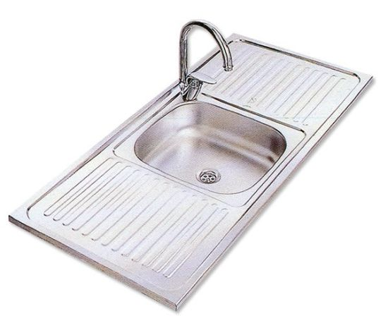 China Best Price Single Bowl Handmade Stainless Steel Kitchen Sink