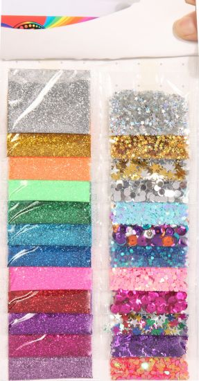 Sequin Star Party Confetti Craft Hobby and Educational Toys