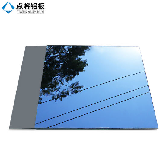 China Colored Flat Sheet Glass Prices Aluminum Mirror - China Sheet ...